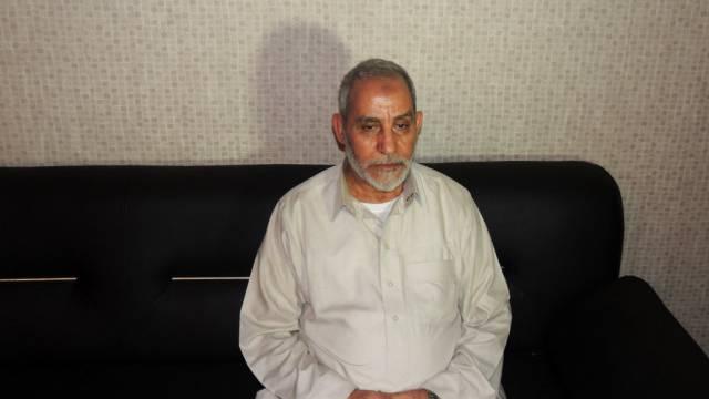 Mohammed Badie wurde zum Tode verurteilt (Archiv)