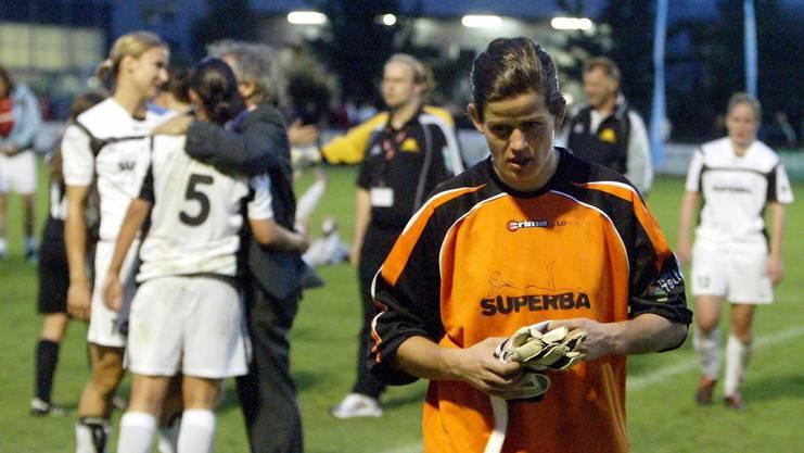 Marisa Brunner hütete zwischen 2001 und 2006 das Tor des FC Sursee (später SC LUwin).