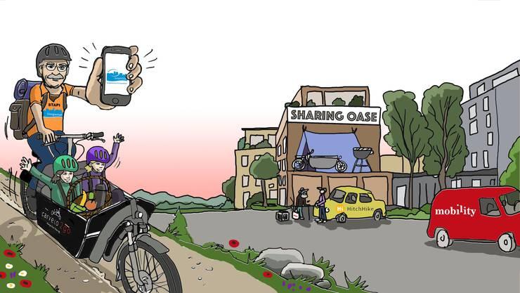 Projekt smart!mobil. Copyright: Claude Salafia