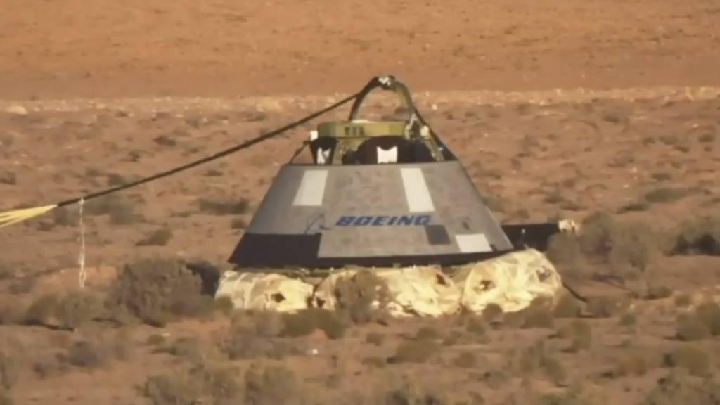 Boeing-Raumkapsel «Starliner» in New Mexico gelandet