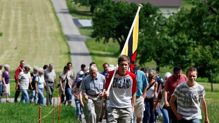 Der Witterswiler Banntag wird sich wohl eine neue Route suchen müssen, falls die Gemeinde eines Tages mit Bättwil fusioniert. Archiv