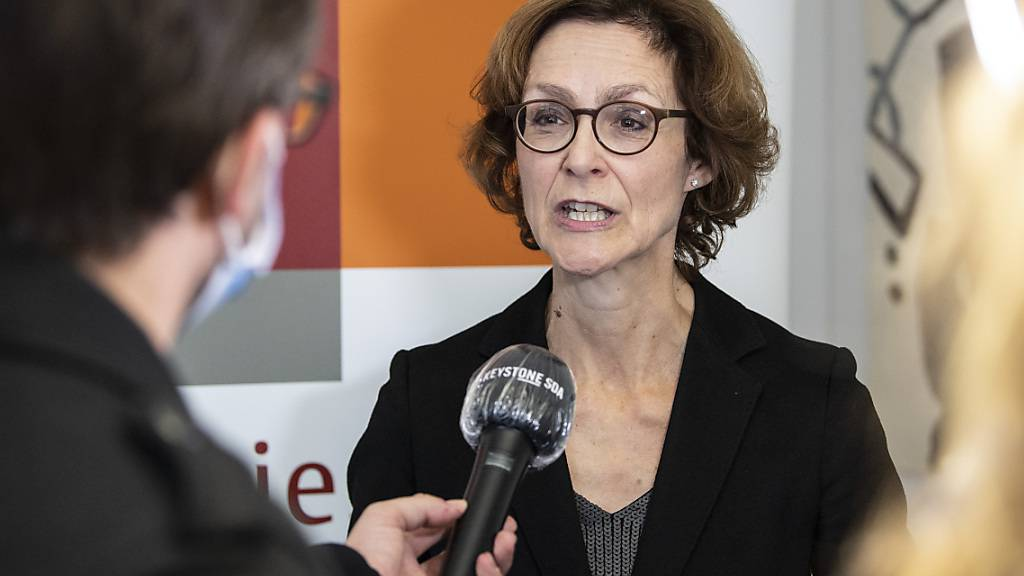 Monika Rühl, Direktorin des Wirtschaftsdachverbands Economiesuisse, unterstützt mit einem breit abgestützten Komitee das revidierte CO2-Gesetz. (Archivbild)