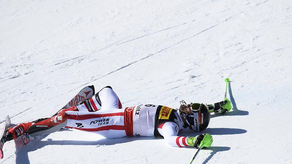 Marcel Hirscher erlitt einen Knöchelbruch
