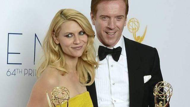 """Die """"Homeland""""-Darsteller Claire Danes und Damian Lewis an der Emmy-Verleihung"""
