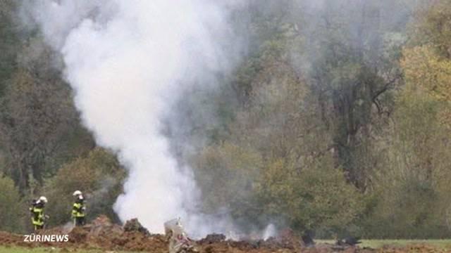 Schweizer F/A-18 in Frankreich abgestürzt