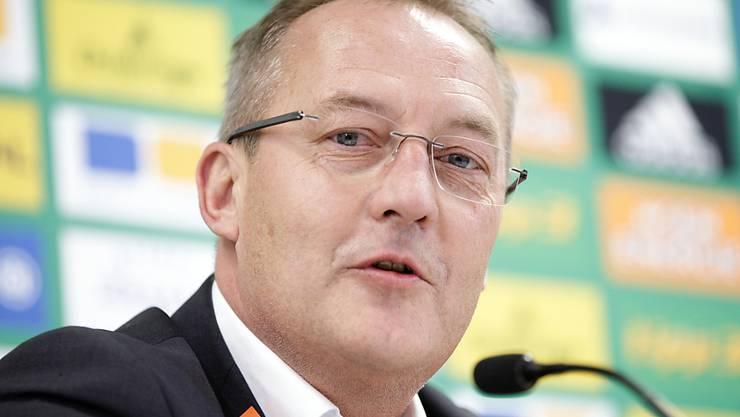 Trotz Aussenseiterrolle: Fredy Bickel peilt als Sportdirektor mit Rapid Wien gegen Salzburg den Cupsieg an