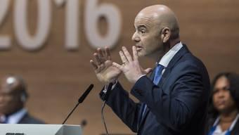 Wurde am ausserordentlichen Kongress im Zürcher Hallenstadion zum neunten FIFA-Präsidenten gewählt: Gianni Infantino