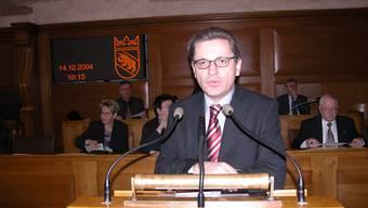 Melchior Buchs war Grossrat des Kantons Bern (1998–2002, 2004–2006). Vor vier Jahren zog er nach Reinach. (© Bruno Utz)