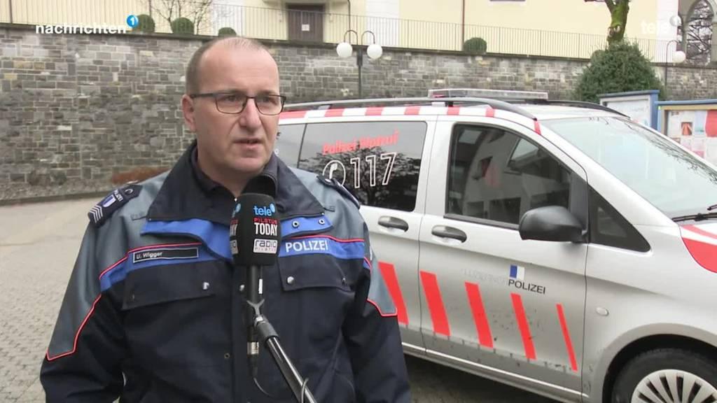Polizei vor den Fasnachtstagen