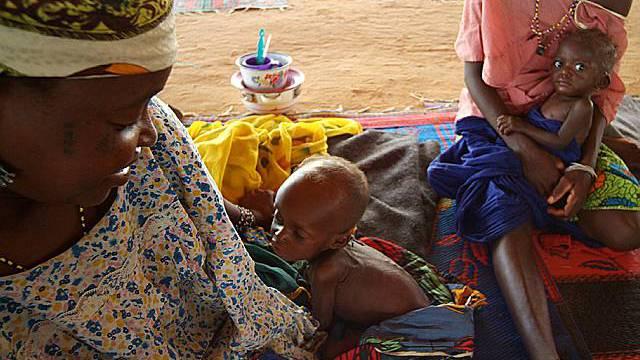 Im Niger droht eine schlimme Hungersnot (Archiv)
