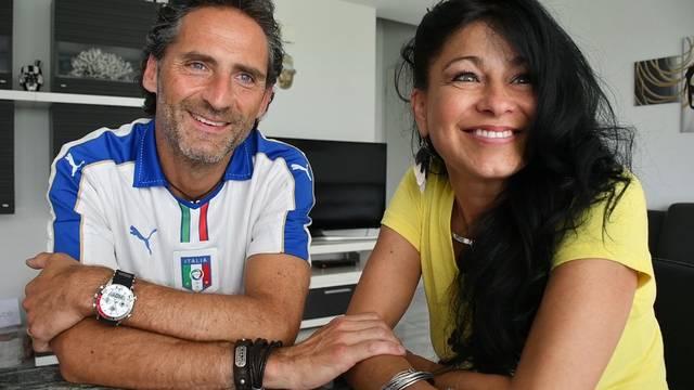 Er schätzt die SBB, sie die Menschen: Kattia und Gianni Beccarelli im WM-Interview