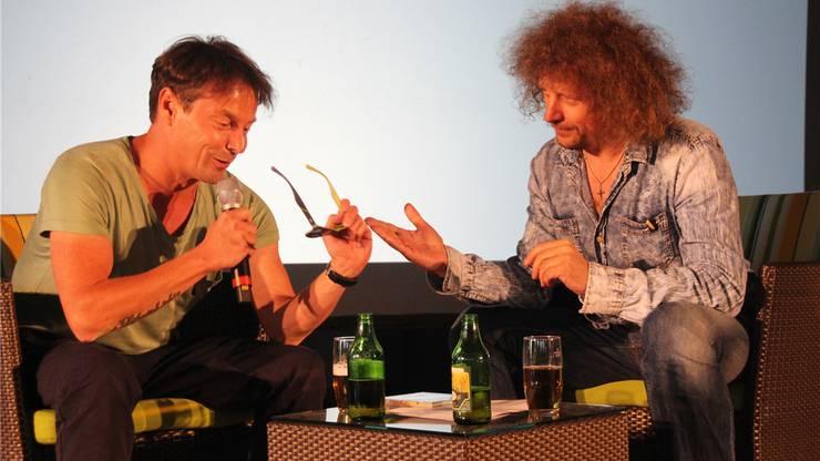 Florian Ast und Luke Gasser.