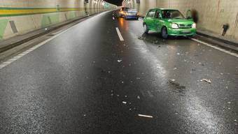 Unfall im Arisdorf-Tunnel