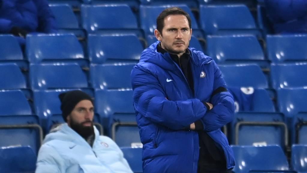 Chelsea-Trainer Frank Lampard ist mit seinem Team vom erfolgreichen Weg abgekommen