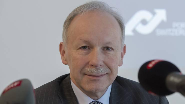Tritt per Ende 2020 aus Altersgründen zurück: Hans-Peter Hadorn, Direktor der Schweizerischen Rheinhäfen.