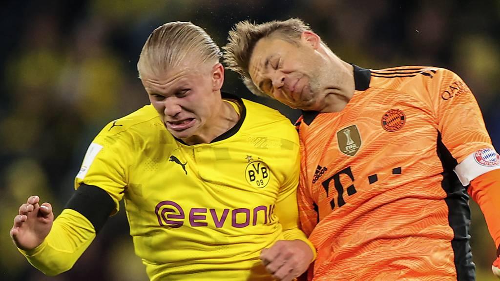 Bayern gewinnen erstes Duell der grossen Rivalen