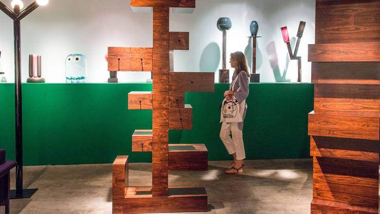Design Miami/Basel: Das Sottsass Cabinet bei G. Friedman Benda.