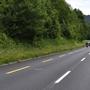 Ein Motorradfahrer kollidierte am Sonntag mit einem Reh.