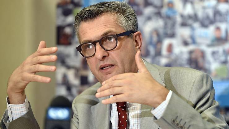 Wird neuer UNO-Flüchtlingskommissar: der Italiener Filippo Grandi (Archiv)