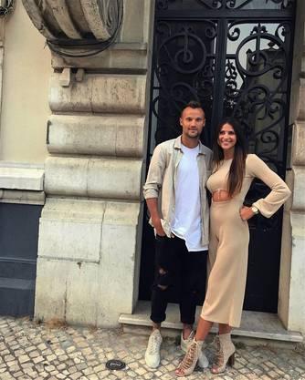 Seferovic mit Freundin Amina. Instagram