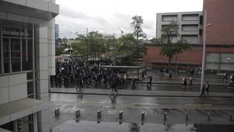 Polizei eskortiert Zürcher Fans