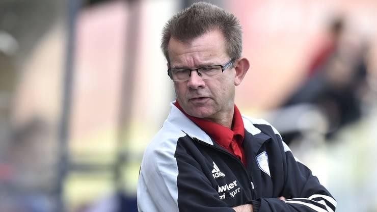 Reto Salm coacht seit dieser Saison gemeinsam mit Luigi Saporito den FC Niederwil.