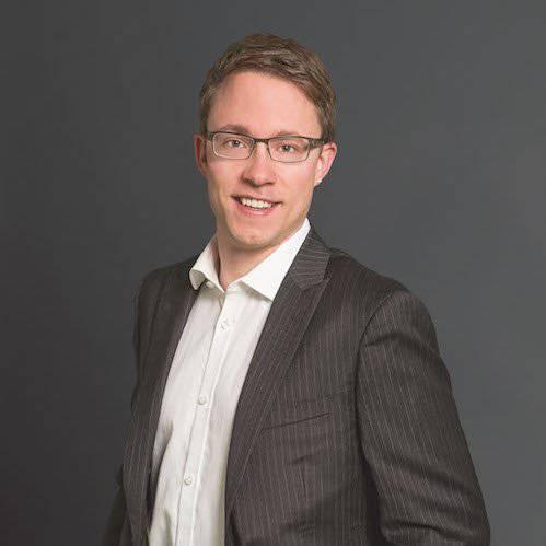 Raphael Widmer, Präsident der CVP der Stadt St.Gallen.