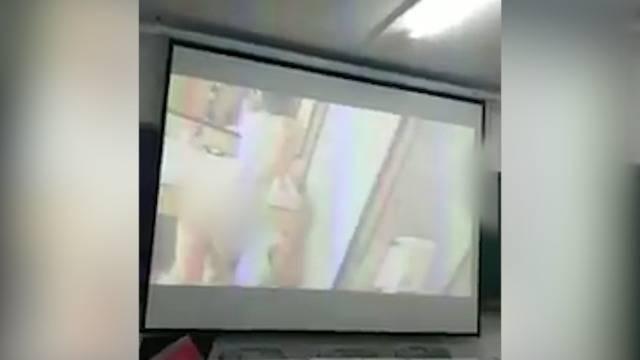 Peinlich: Lehrer spielt versehentlich Porno ab