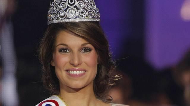 Miss France 2011, Laory Thilleman, besuchte die beiden Abenteurer im Kühlhaus (Archiv)