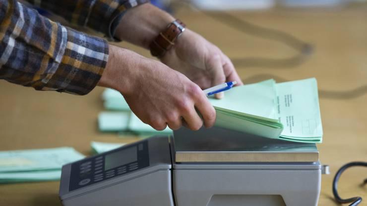 Beim Erfassen der Anzahl Stimmen kam es in Windisch zu einem Fehler. (Symbolbild)