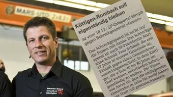 Knatsch in Küttigen: SVP-Grossrat Daniel Wehrli beleidigt SP-Präsidentin Marianne Schmid
