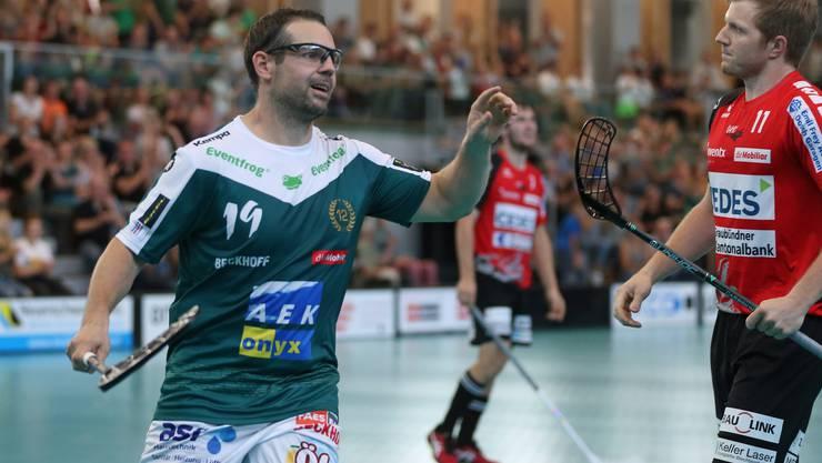 Wiler-Ersigen feiert die Festtage dank zwei Siegen gegen Thun und Sarnen auf dem ersten Tabellenplatz.