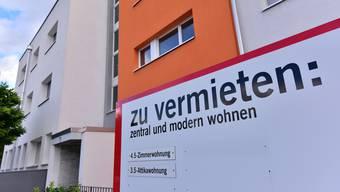 In den Kantonen Aargau und Solothurn stehen derzeit besonders viele Wohnungen leer. (Archivbild)