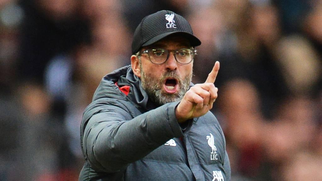 Liverpools Coach Jürgen Klopp erwägt Rückzug aus Ligacup