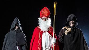 Die «verdächtigen Personen» stellten sich als Samichlaus mit seinen beiden Schmutzli heraus. (Archivbild)