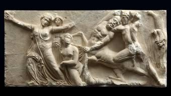 Dieser Fries aus dem Apollon-Epikourios-Tempel wird an der Ausstellung zu sehen sein.