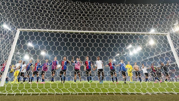 Der FCB bedankt sich bei seinem Publikum für die Unterstützung gegen Lech Posen