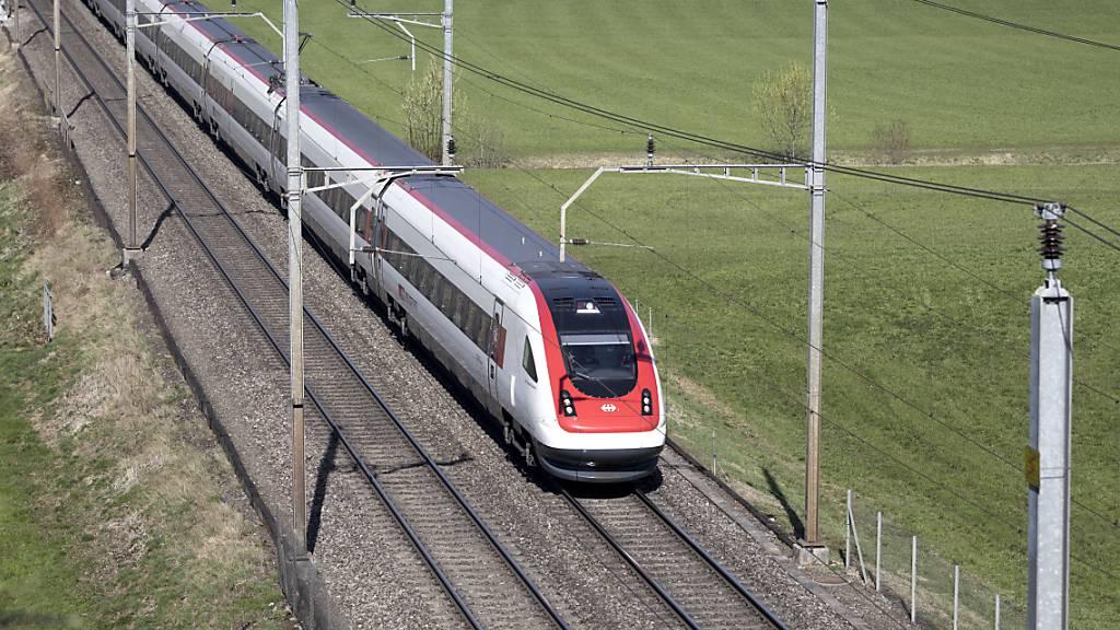 SBB renovieren ihre 44 Intercity-Neigezüge für 400 Millionen