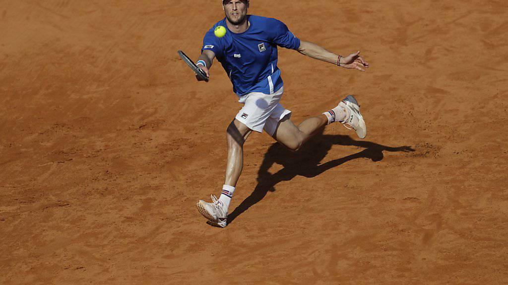 Andreas Seppi sicherte Italien in Buenos Aires den zweiten Punkt