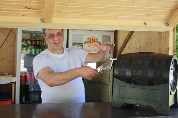 Gianni Lorias Paradies ist auch etwas für Bierliebhaber