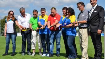 Einweihungsfest für Sportanlagen in Tägerig (8.9.2018)