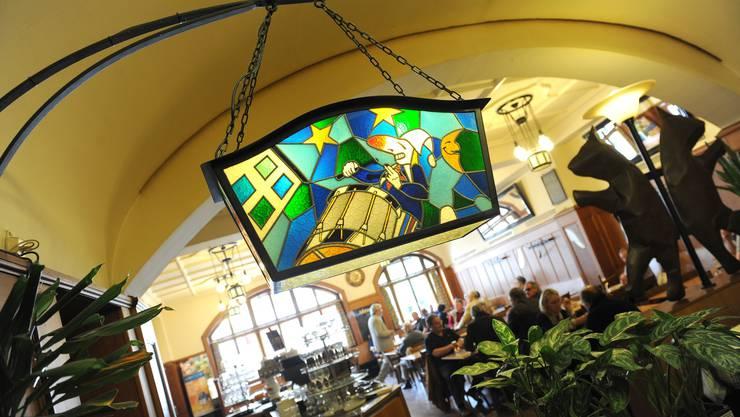 Innenansicht des Restaurants Zum Braunen Mutz. (Foto: Juri Junkov)