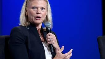 """""""Weiter im Wandel"""": IBM-CEO Virginia Rometty zu den Quartalsergebnissen des Computerkonzerns (Archivbild)"""