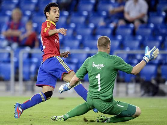 Salah kommt nicht an Moldes Torhüter vorbei