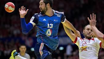EM-Triumph für Frankreich mit Superstar Nikola Karabatic (links)