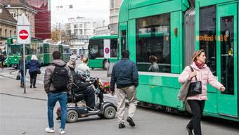 Die Behindertenverbände kritisieren die Pläne am Centralbahnplatz. NIZ