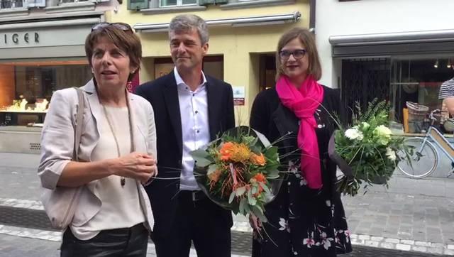 «Das macht Freude»: Die Aarauer SP-Stadtpräsidentin Jolanda Urech über ihre letzten 100 Tage und ihre möglichen Nachfolger.