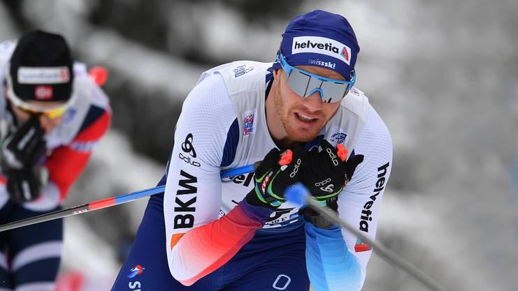 Hinter Dario Cologna klafft im Schweizer Team eine grosse Lücke.
