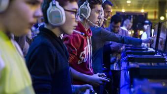 An der Games Week in Berlin werden bis am 30. April rund 15'000 Besucher erwartet (Archiv).