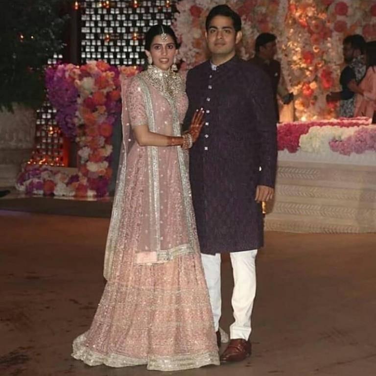 Hochzeit von indischen Superreichen